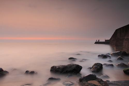 sunset taiwan 夕陽 台灣 淡水 六塊厝 屯山 新北市