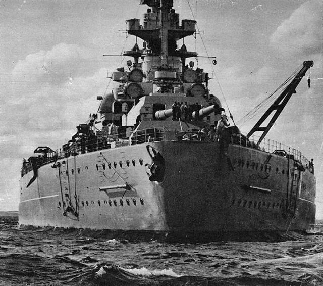 Bismarckova záď, 1941