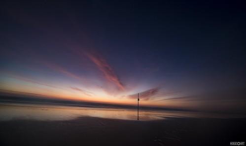 morning sun beach sunrise landscape dawn sand nikon florida horizon d750 daytona rokinon
