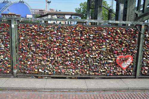 Love locks Kö 5-22-15 2 | by THE Holy Hand Grenade!