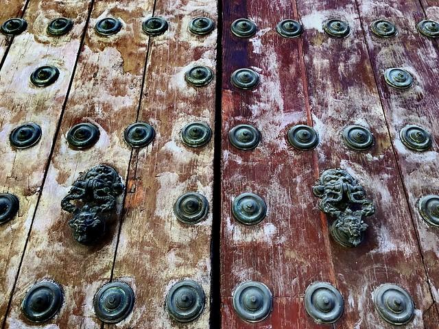 Porta. Door. Puerta.