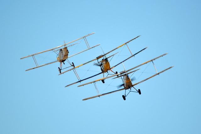 Vintage RAAF Museum Formation