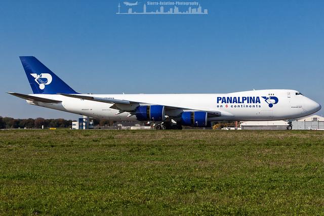 N850GT Atlas Air Panalpina Boeing 747-8F