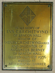 buried at Brookwood