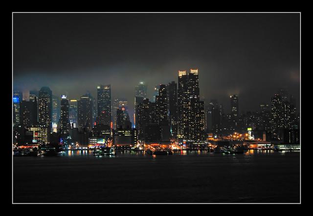 New York City - Nacht über Manhattan 06