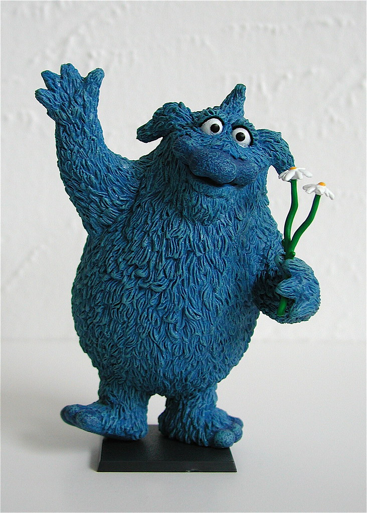 palisades toys mini-muppet pvc figure: thog (date unknown