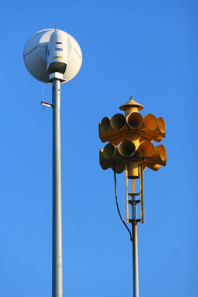 Civil Defense Sirens | Sirens located in Richland Park, Rich ... on