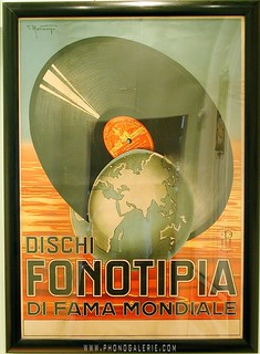 Affiches Posters Disque Fonotipia- 042