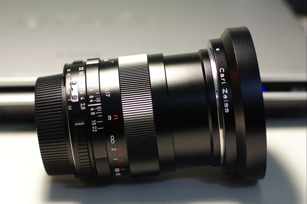 Carl Zeiss Distagon 25mm F2 8 ZF | shoot with Canon 350D and