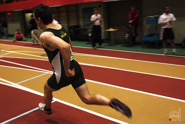 The flying runner | Feb 23-24,2007  Championnats provinciaux