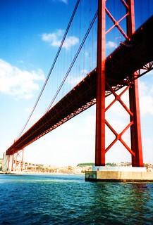 Suspension bridge in Lisbon