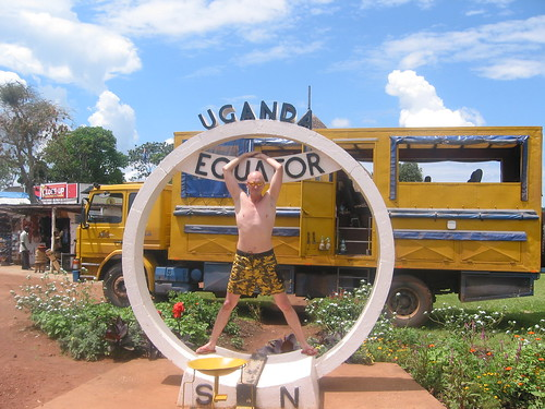 Hubbers on equator in Uganda | by Hubbers