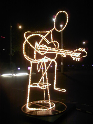 Stickman Guitarist | by Wong Kee Wee