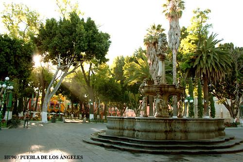 Zócalo de Puebla de los Ángeles
