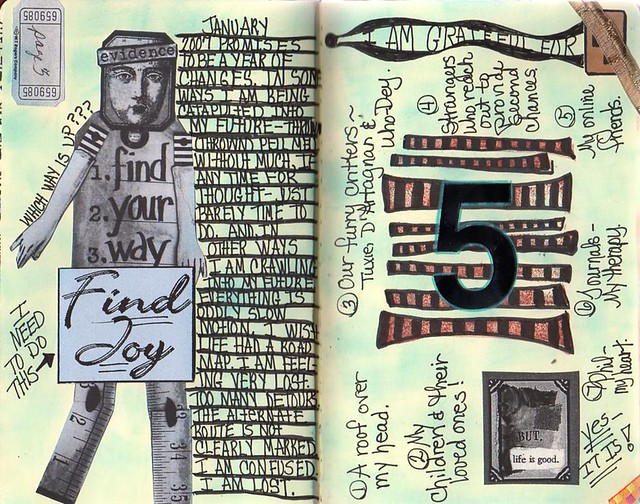 2007 journal, second spread