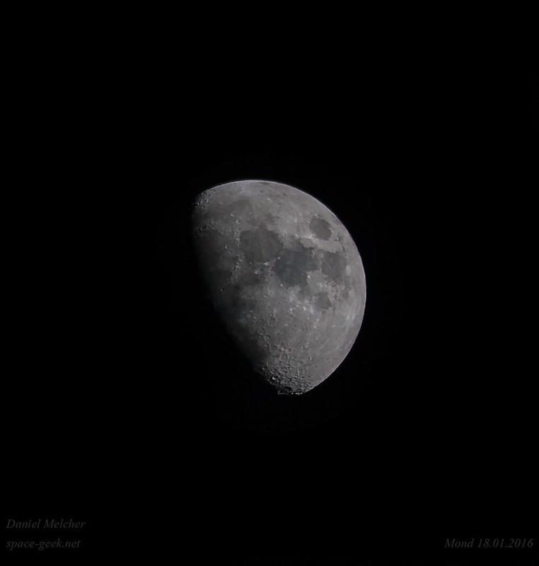 Mond vom 18.01.2016