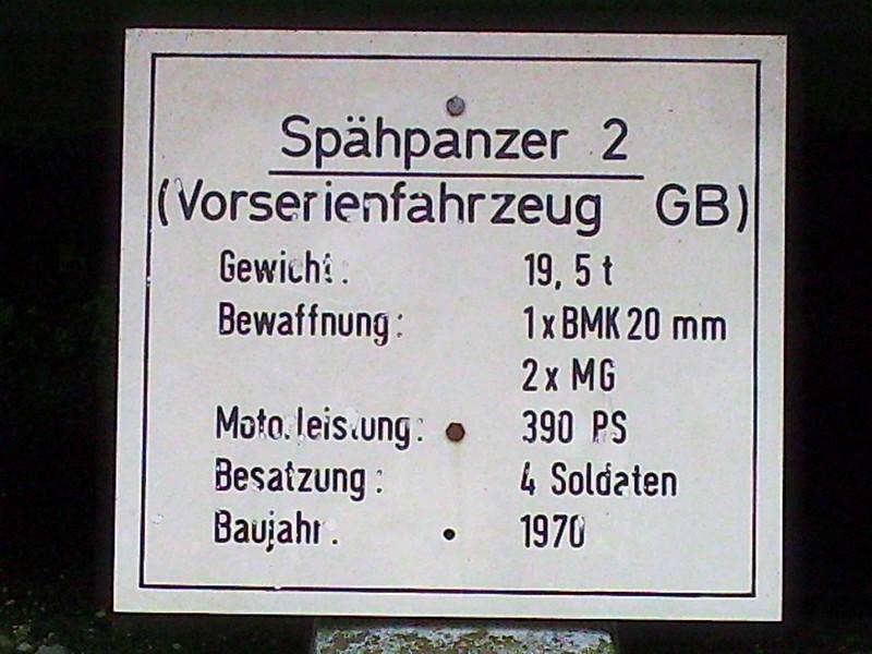 Spahpanzer 2 Prototype 1