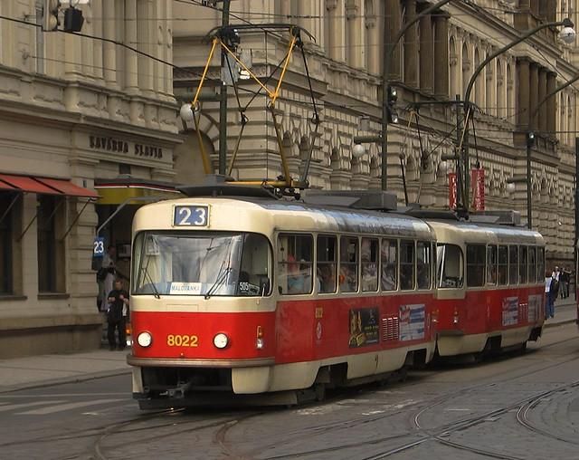 Tram Prag 2008