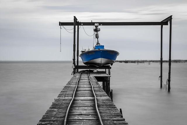 Blue boat #explore