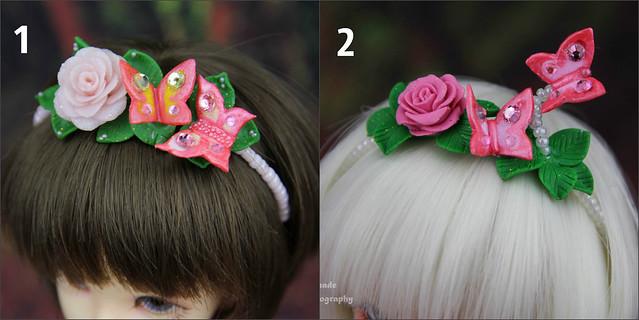 Balloon dress & butterfly headband
