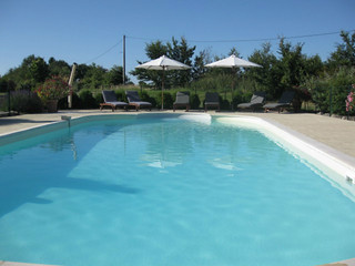 The large pool is superb for relaxing, games and swimming | by Les Petites Cigognes