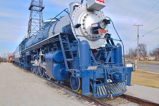 Frisco 4500 Locomotive | by alnbbates