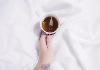 Chá de camomila para dormir
