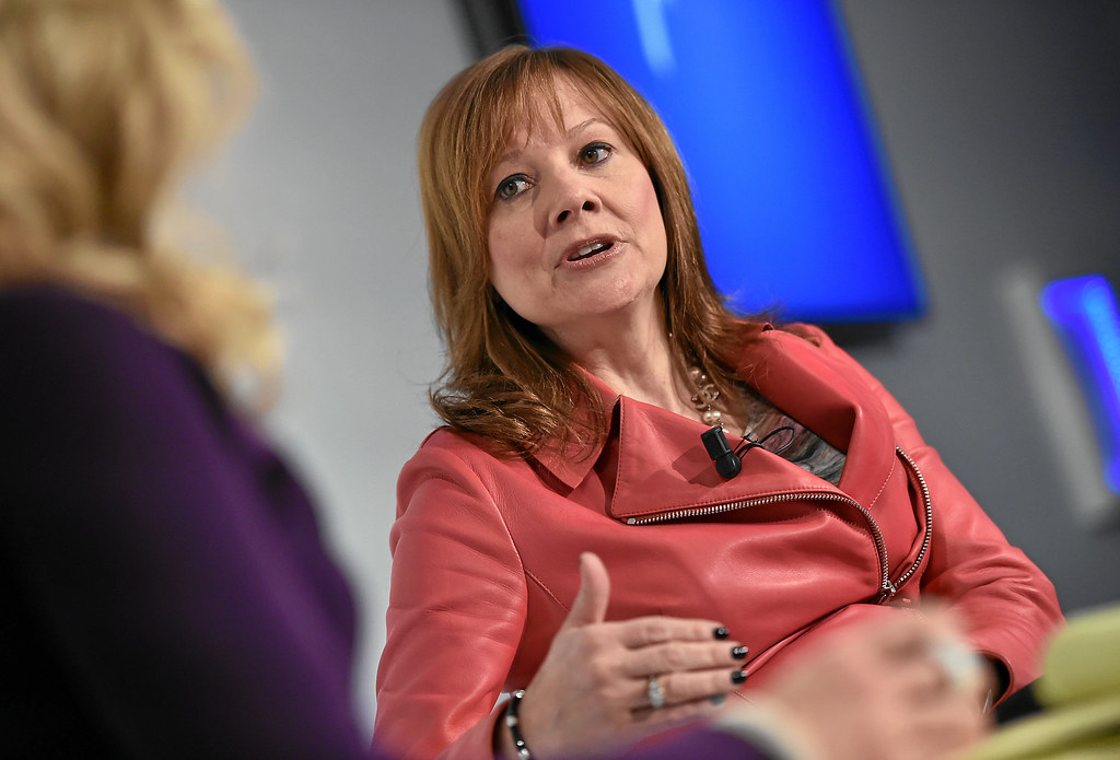 Chief Executive Officer | Mary Barra, Chief Executive Office… | Flickr
