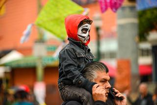 Día de Muertos, Fruitvale, Oakland, California USA