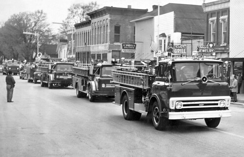1965 or so - Fire dept - parade