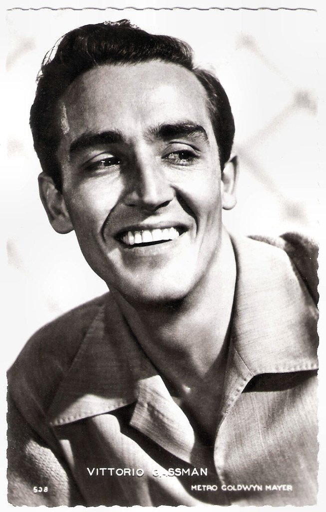 Vittorio Gassman French Postcard By Editions P I Paris Flickr