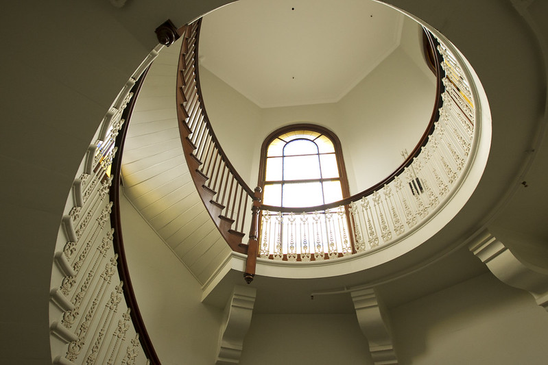 Sydney Town Hall interior staircase