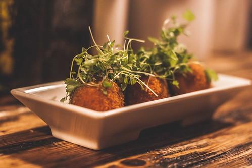 Cauliflower and Idiazabel Croquettas at Donostia Social Club in Brixton | by Matt The List