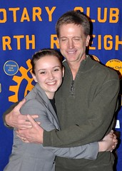 Maddie Pare with her dad John.