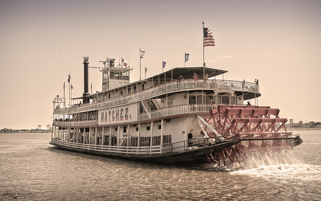 Mississippi Steamboat - New Orleans, Louisiana