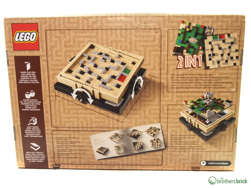 LEGO Baukästen & Sets Lego 21305 Ideen B ~ Labyrinth LEGO Bau- & Konstruktionsspielzeug