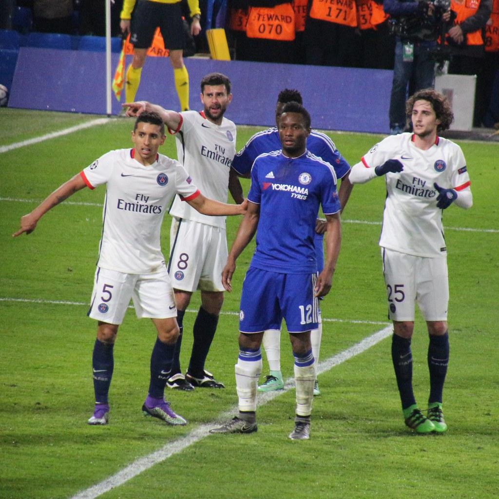Chelsea 1 PSG 2