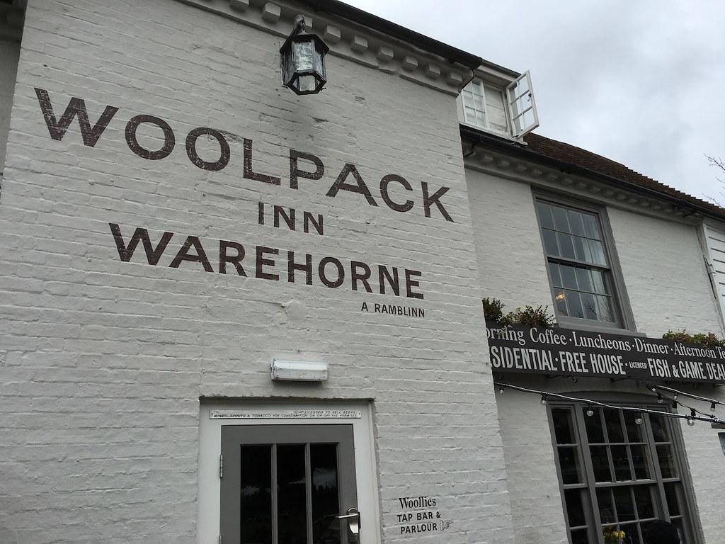 Woolpack Inn Ham Street to Appledore walk