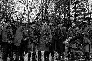 85th Highlanders reenactment WWI