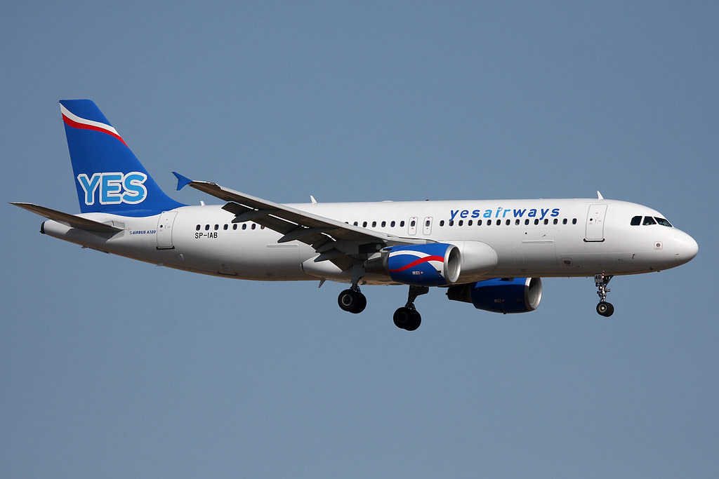 SP-IAB. A-320. Yes Airways. PMI.