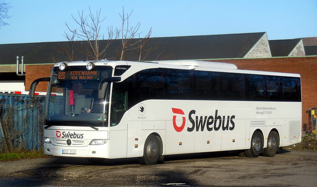 Christmas sun for Swebus Mercedes Tourismo 7701 DDD812 route 820