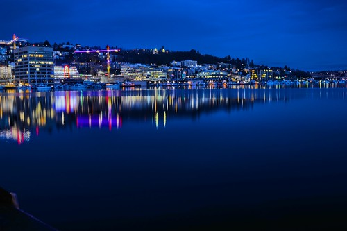 seattle longexposure morning blue winter lake cold colour reflections boats early lowlight waterfront ships reflected lakeunion colourful lakefront southlakeunion