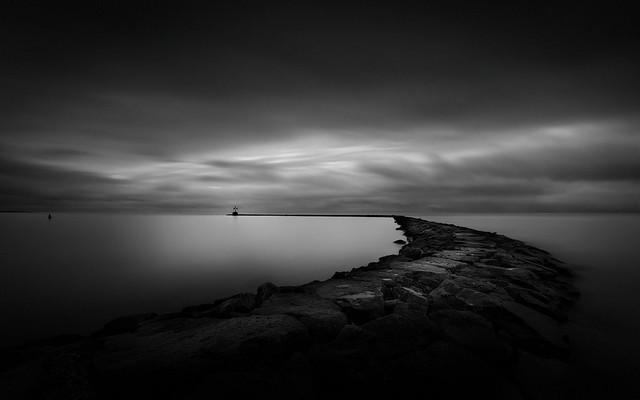 Deep Stillness (Breakwater, Harwich Port) [explored 5-Jan 2016]