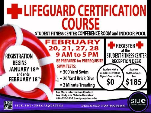 certification lifeguard