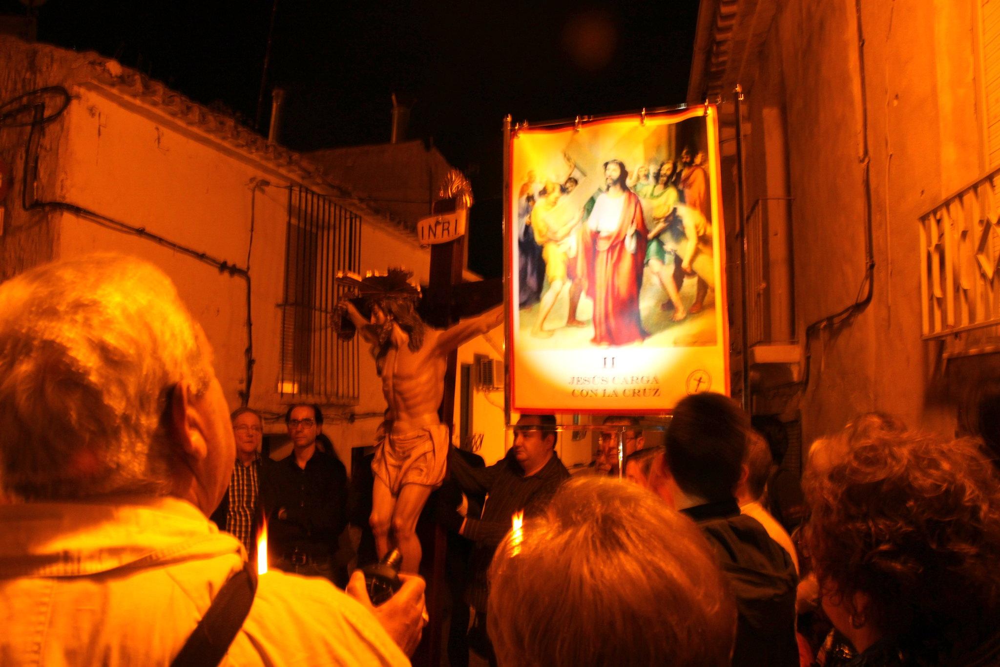 (2014-04-01) -  V Vía Crucis nocturno - Javier Romero Ripoll (20)