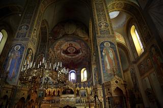Inside Shipka church