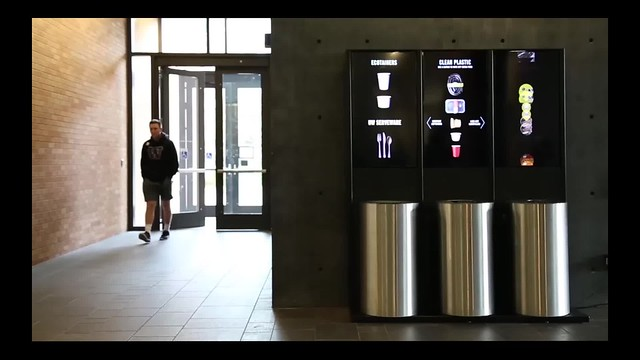 PACCAR Hall: Smart Bins Installation
