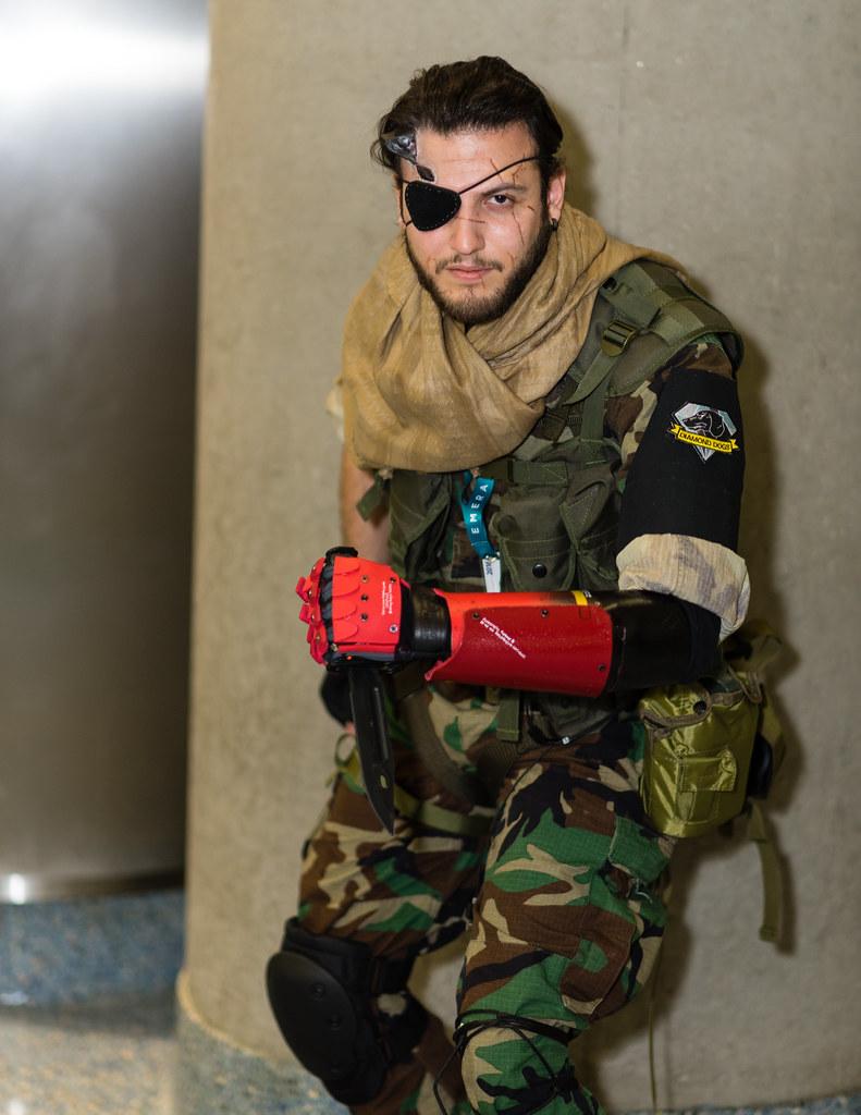 Wondercon 2016 - Venom Snake | from Metal Gear Solid 5 | Flickr