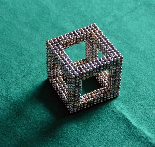 Tetramag cube