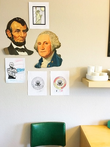 presidents day phone bank patriotic wall 24272321344_2ac5881a9f_b | by ex.libris